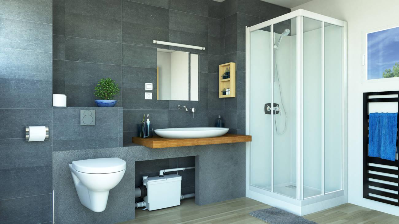 Sfa sanitrit lanza un triturador adaptable para empotrar y cuidar la est tica - Bagno con wc separato ...