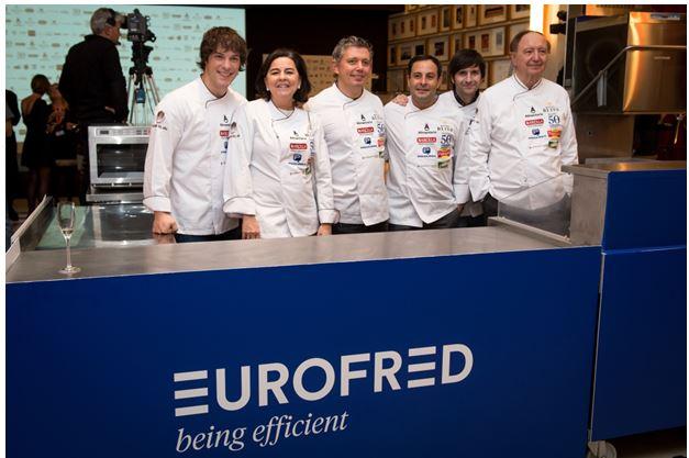 eurofred patrocina el concurso cocinero del ano