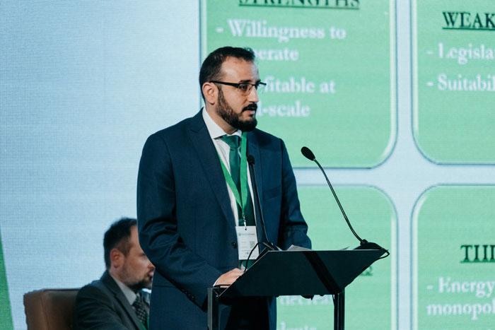 David Navarro de Les Roches en el InterEcoForum 2018