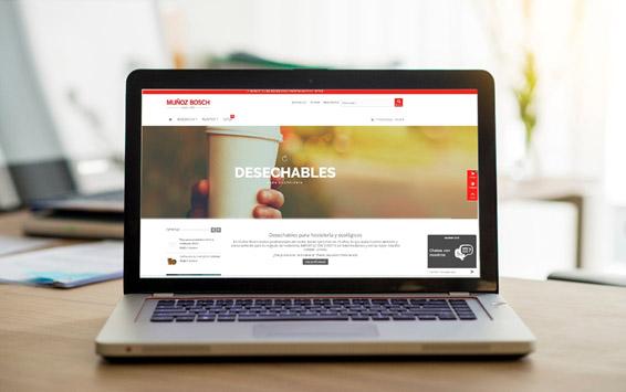 muñoz bosch lanza su tienda online de desechables
