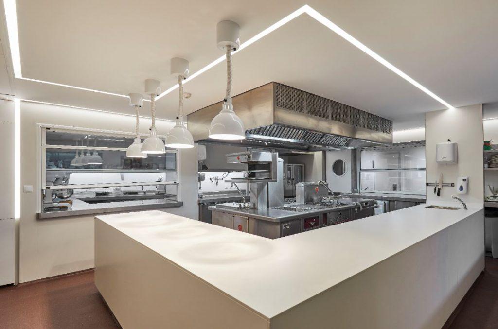 cocina del hotel casamar proyecto de complet hotel
