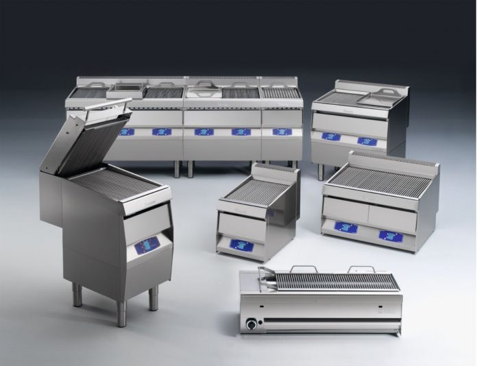 Parrillas eléctricas y de gas con tecnología patentada Gillvapor de Arris Catering Equipment