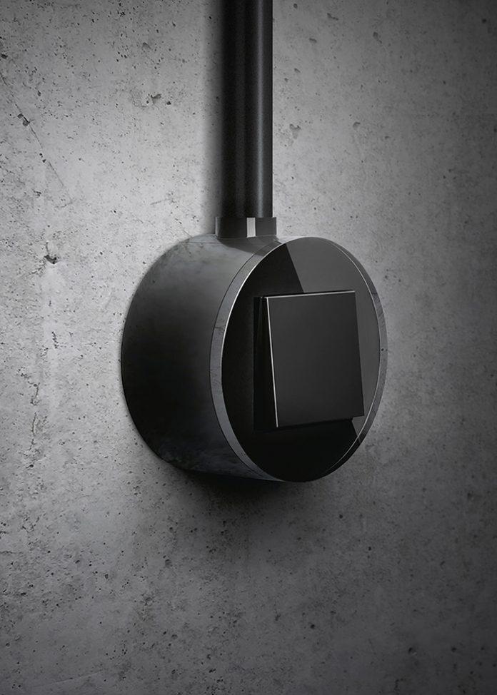 Interruptor Gira Studio y sistema abierto Plug&Light