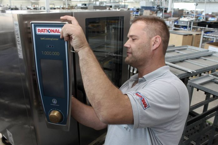 Rational celebra su vaporizador combinado número 1 millón