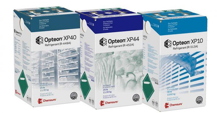 refrigerantes OPTEON