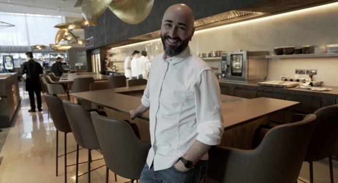artur martinez chef hilton diagonal mar barcelona y equipa rational