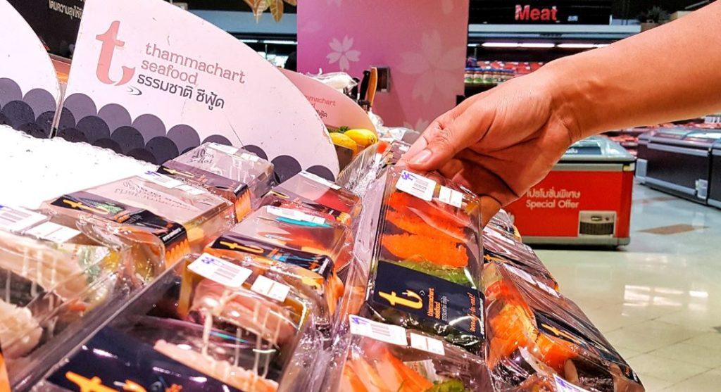 comida en el supermercado equipamiento de frio
