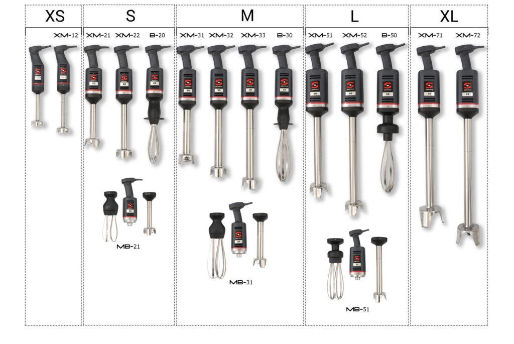 trituradores-batidores sammic xm 12