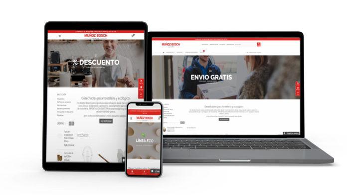La tienda online de Muñoz Bosch incorpora una nueva línea de limpieza profesional.