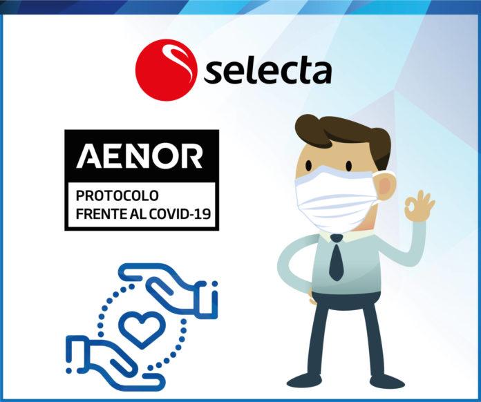 selecta aenor certificado covid
