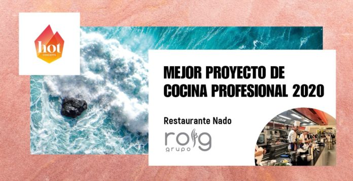 grupo roing premio hot concepts mejor proyecto de cocina profesional 2020
