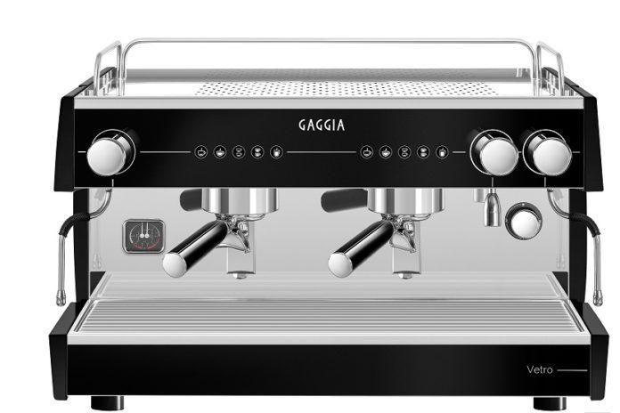 Quality Espresso Gaggia Vetro