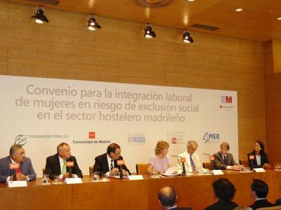 Cehat y la comunidad de madrid por la integraci n laboral for Convenio oficinas y despachos comunidad de madrid