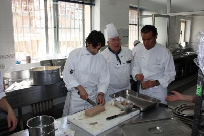 La cocina de las hermanas hospitalarias con una estrella for Estrella michelin cocina