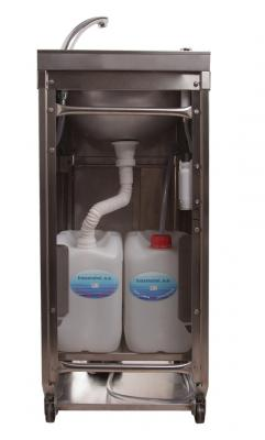 Inoxmobel lavamanos port til autom tico - Lavabo portatil ...