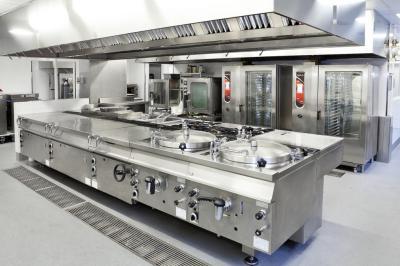 Fagor industrial equipa la nueva cocina y cafeter as del for Machine plonge professionnel
